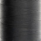 Нитки для кожи Ritza Tiger 0.6 мм. 30 метров, 100% полиэстер. Цвет JK23 - Black.