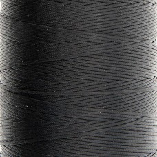 Нитки для кожи Ritza Tiger 1 мм. 30 метров, 100% полиэстер. Цвет JK23 - Black.