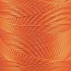 Нитки для кожи Ritza Tiger 0.8 мм. 26-30 метров, 100% полиэстер. Цвет JK247 - Orange.