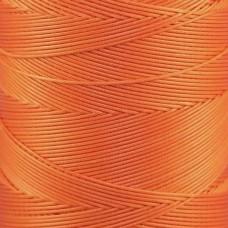Нитки для кожи Ritza Tiger 0.8 мм. 30 метров, 100% полиэстер. Цвет JK74 - Orange.