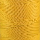 Нитки для кожи Ritza Tiger 0.8 мм. 30 метров, 100% полиэстер. Цвет JK56 - Yellow.