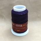 Нитки для кожи кручёные из полиэстера. Жирно вощёные. Seiwa made in Japan, 1 мм. 50 метров. Пурпурный.