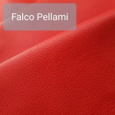 Кожа козлёнок галантерейная 1 сорт (ручная сортировка), FALCO PELLAMI красный 48 кв.дец.