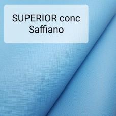 Кожа галантерейная КРС 1 сорт, сафьяно Conceria Superior 1.8 мм. 34x70 см. Египетский синий.