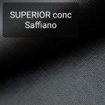 Кожа галантерейная КРС 1 сорт, сафьяно Conceria Superior 1.3 мм. 34х74 см. Чёрный.