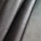 Кожа козлёнок галантерейная 1 сорт (ручная сортировка), FALCO PELLAMI чёрный 59 кв.дец.