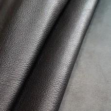 Кожа козлёнок галантерейная 1 сорт (ручная сортировка), FALCO PELLAMI чёрный 58 кв.дец.