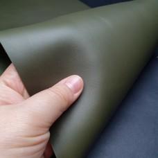 Кожа галантерейная теленок MASONI PRIMA хаки 1.2 мм. отрез 21х72 см.