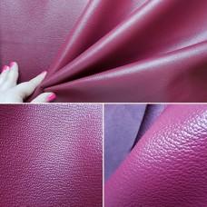 Кожа премиум шевро АЛРАН (Alran leather), 38 дециметров, высший сорт, толщина 1 мм. Фуксия.