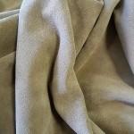 Замша телячья двусторонняя, плотная, износостойкая. Около 1.5 мм. 142 дец. Soft Grey.