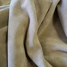 Замша телячья двусторонняя, плотная, износостойкая. Около 1.5 мм. 72 дец. Soft Grey.