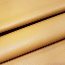Кожа козлёнок галантерейная 2 сорт, шевро жёлтый 1.0 мм. 64 кв.дец.