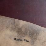 Кожа галантерейная США - легенда Horween Horsebutt Strip CHXL - Burgundy - 3.5 фута.