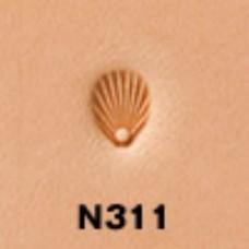 """Штамп для тиснения по коже """"Фигурный N311"""" 3.5х6 мм."""