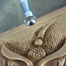 """Штамп для тиснения по коже """"Центровой S633"""" 4.5х4.5 мм."""