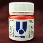 Краска для уреза кожи UNITERS RED матовый красный 40 гр.