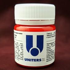 Краска для уреза кожи UNITERS RED матовый красный 50 гр.