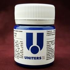 Краска для уреза кожи UNITERS CYAN матовый синий 40 гр.