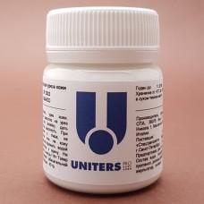 Краска для уреза кожи UNITERS BIANCO матовый белый 40 гр.