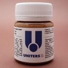 Краска для уреза кожи UNITERS CUOIO матовый коричневый 40 гр.