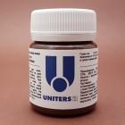Краска для уреза кожи UNITERS DARK BROWN матовый тёмно-коричневый 50 гр.