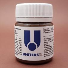 Краска для уреза кожи UNITERS DARK BROWN матовый шоколадный 40 гр.