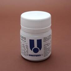 Краска для уреза кожи UNITERS FIBER GLUE адгезив для необработанного уреза кожи 50 гр.