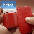 Краска для уреза кожи UNITERS + ALRAN матовый красный 50 гр.