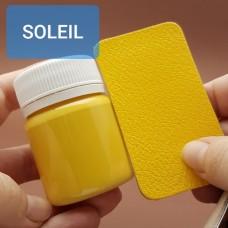 Краска для уреза кожи UNITERS + ALRAN матовый жёлтый 50 гр.