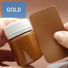 Краска для уреза кожи UNITERS + ALRAN матовый золотисто-коричневый 50 гр.