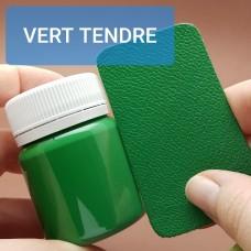 Краска для уреза кожи UNITERS + ALRAN матовый зелёный 50 гр.
