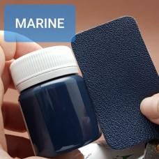 Краска для уреза кожи UNITERS + ALRAN матовый тёмно-синий 50 гр.