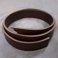 Заготовка для ремня РМД коричневый цвет 38 мм. 120 см.