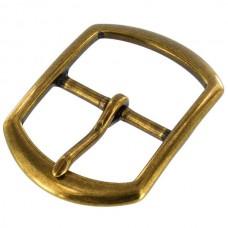 """Пряжка для ремня 38 мм. - 1 1/2"""" из 100% латуни с покрытием антик бронза."""
