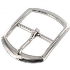 """Пряжка для ремня 38 мм. - 1 1/2"""" из 100% латуни с покрытием никель."""