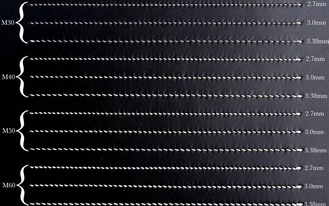 таблица толщин ниток Meisi